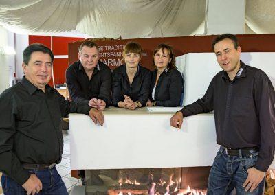 Das Team der Firma